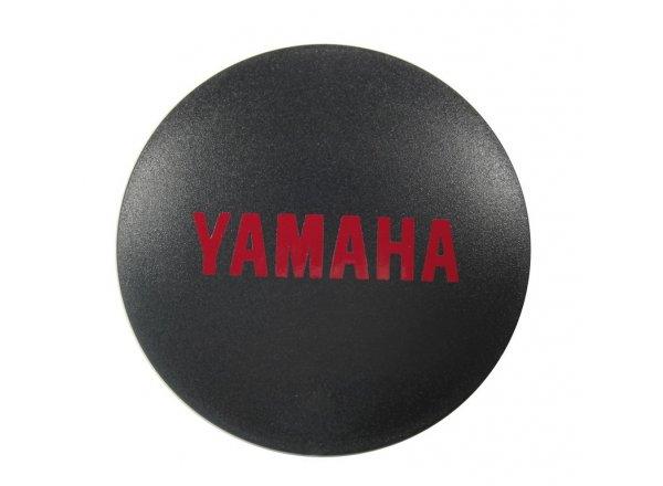 Logo krytka k motoru Yamaha E-Bike Black/red