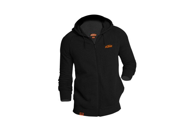 Mikina KTM Factory Team Work Black/orange