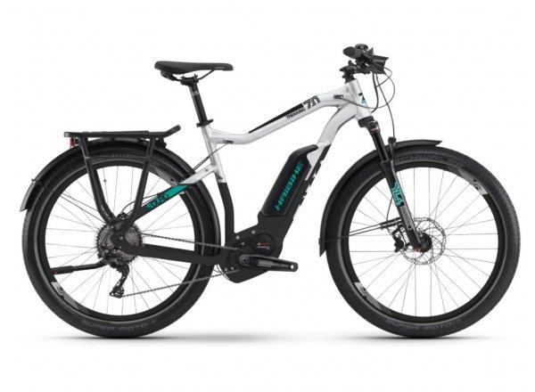 Elektrokolo Haibike SDURO Trekking 7.0 500Wh 2019 black/grey/turquoise