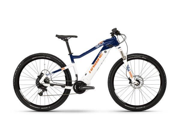 Elektrokolo Haibike SDURO Hardnine 5.0 i500Wh 2019 blue/white/orange