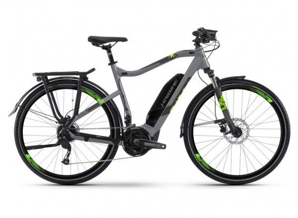 Elektrokolo Haibike SDURO Trekking 4.0 500Wh 2019 Grey/black/green
