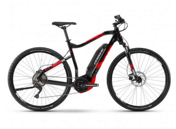 Elektrokolo Haibike SDURO Cross 2.0 500Wh 2019 black/red/white