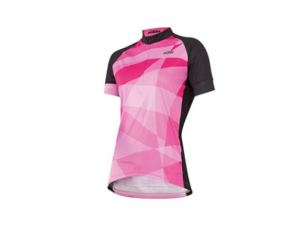 Dámský cyklistický dres KTM Lady Line 2019 Black/berry
