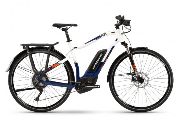 Elektrokolo Haibike SDURO Trekking 5.0 500Wh 2019 blue/white/orange