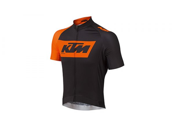 Cyklistický dres KTM Factory Team Black/orange