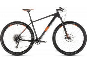 Horské kolo CUBE  ELITE C:62 Race 29 2019 carbon´n´orange