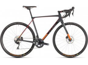 Cyklokrosové kolo CUBE CROSS RACE C:62 Pro 2019 Grey´n´red