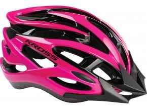 Cyklistická přilba KROSS LAKI Pink