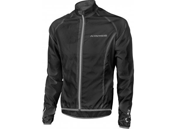 Cyklistická bunda KROSS BROLLY Waterproof Black