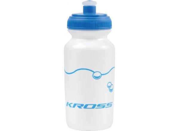Dětská cyklistická láhev KROSS KID White/blue