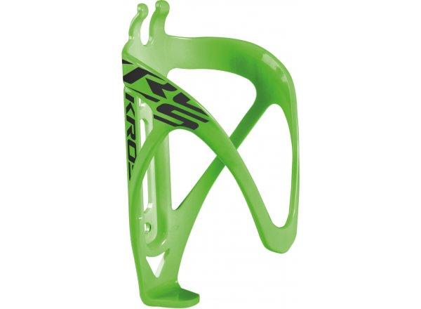Košík na láhev KROSS GRID green/black