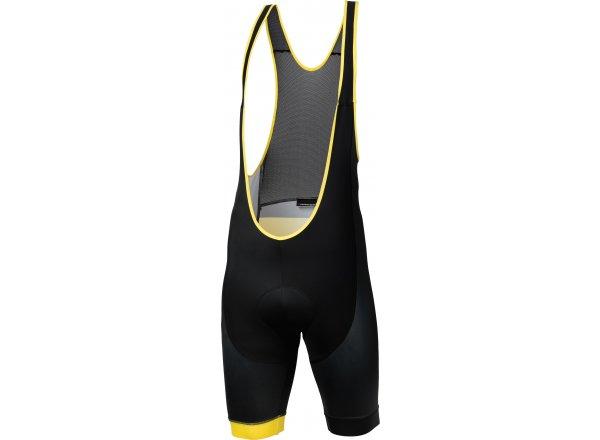 Cyklistické kraťasy KROSS PAVE black/yellow
