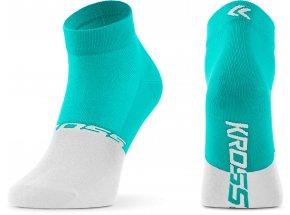 Ponožky KROSS ACTIVE LADY LOW Azure