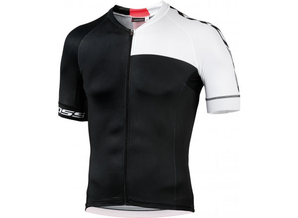 Cyklistický dres KROSS PRO Black/white