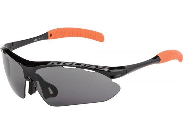 Cyklistické brýle KROSS SX-B1 Black/orange