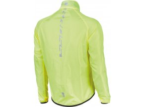 Cyklistická bunda KROSS BROLLY Waterproof Yellow