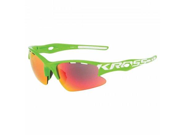 Cyklistické brýle KROSS DX-RACE1 Green