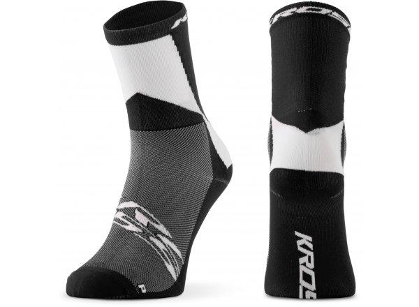 Ponožky KROSS PRO MID Black/white