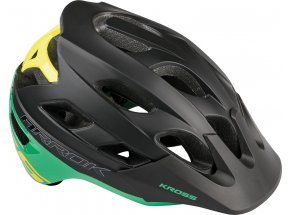 Cyklistická přilba KROSS ARROK G Black/green