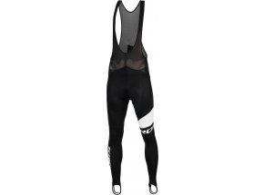 Zimní cyklistické kalhoty KROSS PRO TEAM LONG Black/white
