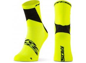 Ponožky KROSS PRO MID Fluo
