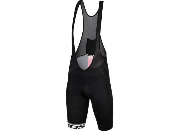Cyklistické kraťasy KROSS Pro Team Bib Shorts Black