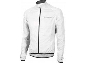Cyklistická bunda KROSS BROLLY Waterproof White