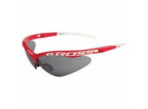 Cyklistické brýle KROSS DX-SPT 1 red/white