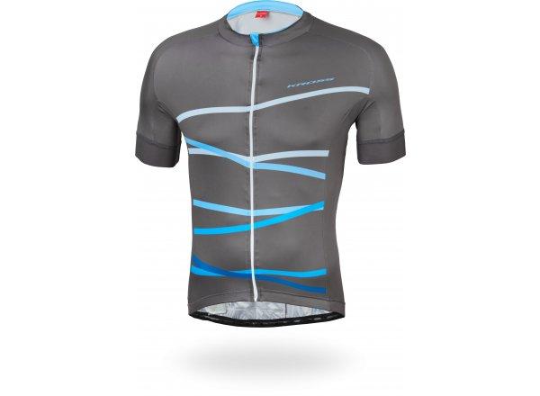 Cyklistický dres KROSS PRO MEDIUM Navy blue