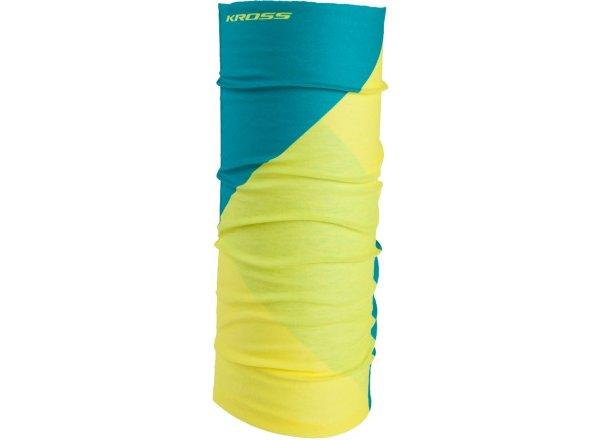 Multifukční šátek KROSS TUBE Yellow/green