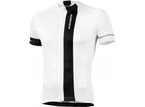 Cyklistický dres KROSS PAVE White/Black