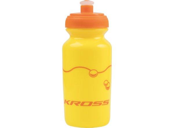 Dětská cyklistická láhev KROSS KID Yellow/orange