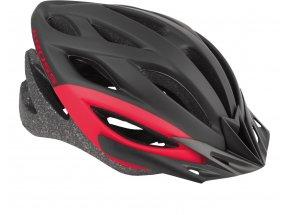 Cyklistická přilba KROSS BORAO Black/red