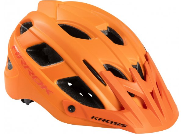 Cyklistická přilba KROSS ARROK G Orange
