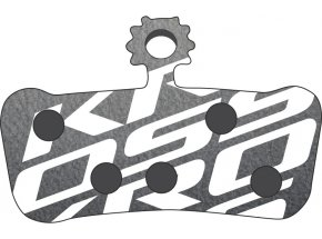 Brzdové destičky KROSS Avid X0 Black