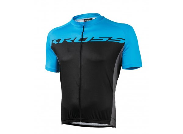 Cyklistický dres KROSS FLOW MEN Blue/black