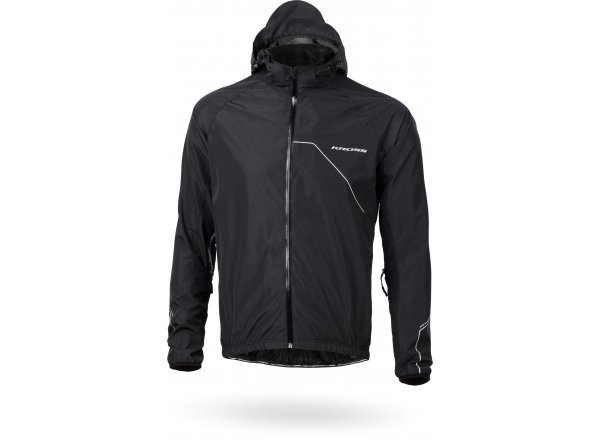 Cyklistická bunda KROSS RAINY Black