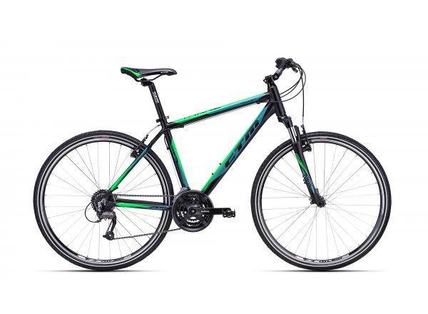 Krosové kolo CTM Tranz 1.0 2019 Black/green