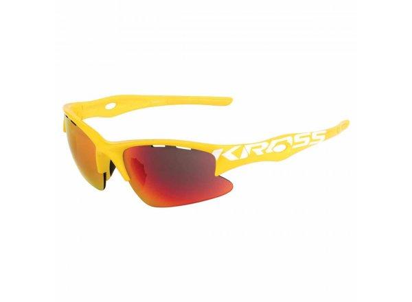 Cyklistické brýle KROSS DX-RACE1 Yellow