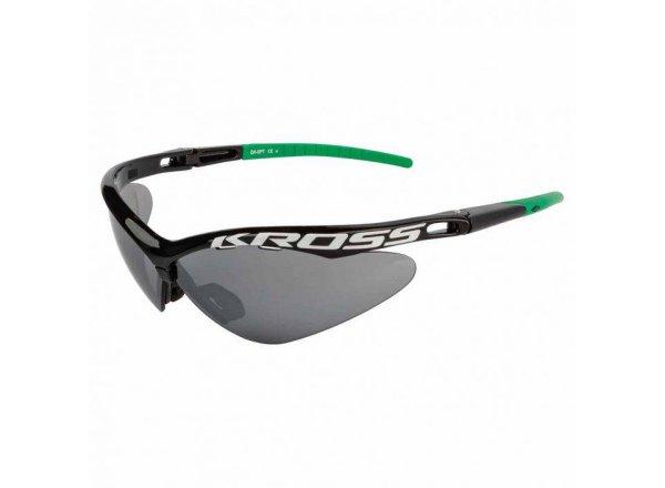Cyklistické brýle KROSS DX-SPT 1 Black/green