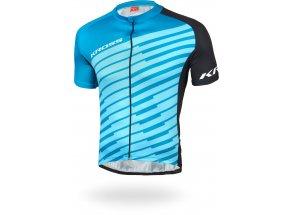 Cyklistický dres KROSS FLOW MEN Blue/black