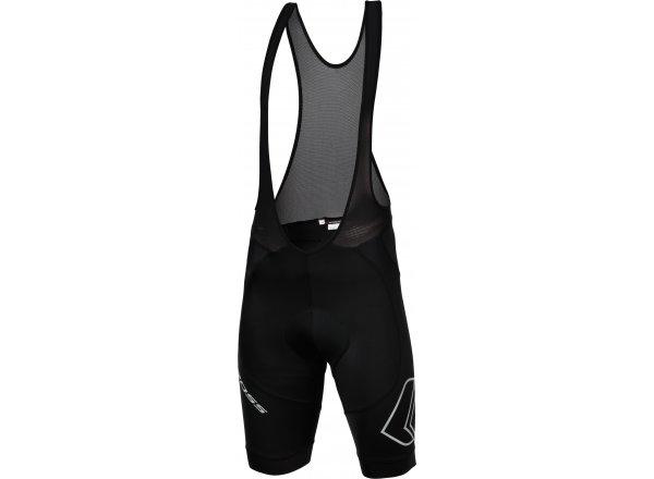 Cyklistické kraťasy KROSS AIM Bib Shorts Black