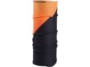 Multifukční šátek KROSS TUBE Orange/black