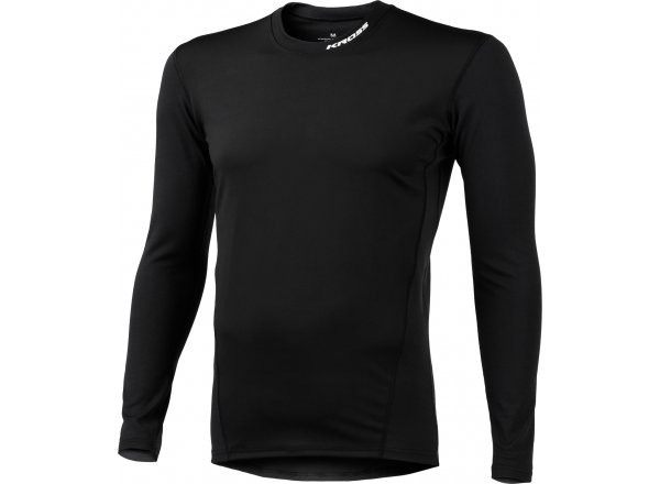 Funkční triko s dlouhým rukávem KROSS VENTO VARMO Black