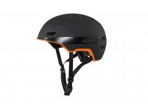 Cyklistická přilba KTM Factory Tour Black/orange