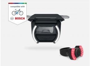 COBI.Bike PLUS s univerzálním držákem pro elektrokola s motorem Bosch Black