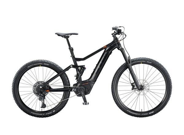 Elektrokolo KTM MACINA KAPOHO LTD 500Wh 2020 Black matt (black +orange glossy)