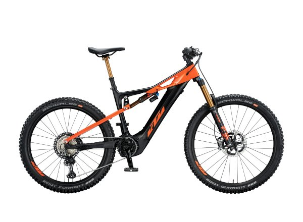 Elektrokolo KTM MACINA KAPOHO Prestige 2020 Black matt (space orange glossy)