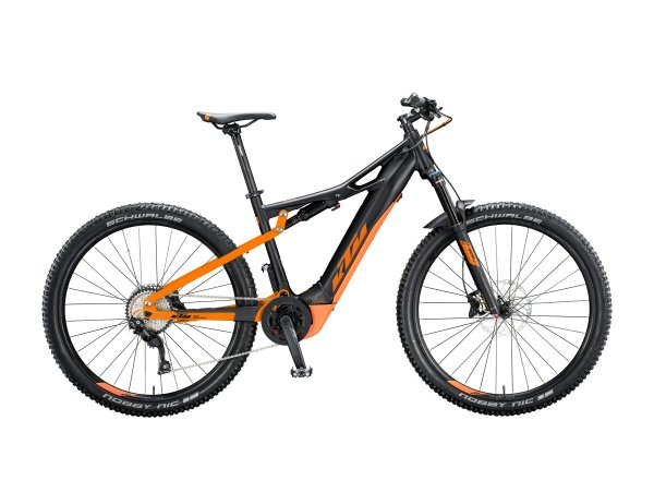 Elektrokolo KTM MACINA CHACANA 294 2020 Black matt (orange)