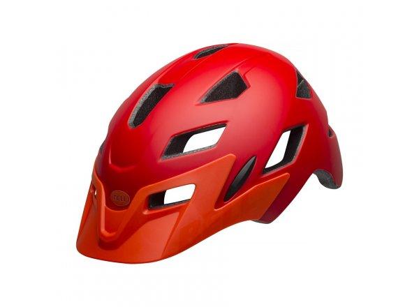 Dětská helma na kolo Bell Sidetrack Youth Mat Red/Orange